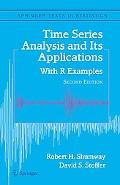 Time Series Analysis And Its Applications With R Examples