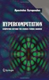 Hypercomputation Computing Beyond the Church-turing Barrier