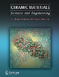 Ceramic Materials Science and Engineering