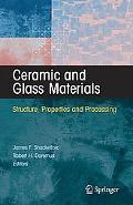 Ceramics and Glasses