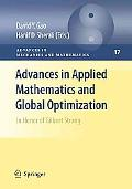 Advances in Applied Mathematics and Global Optimization: In Honor of Gilbert Strang, Vol. 3