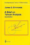 Brief on Tensor Analysis