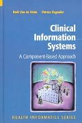 Clinical Information Systems A Component-Based Approach