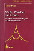 Sands, Powders, and Grains An Introduction Tp the Physics of Granular Materials