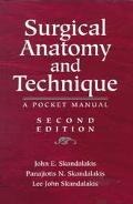 Surgical Anatomy and Technique A Pocket Manual