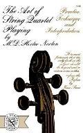 Art of String Quartet Playing