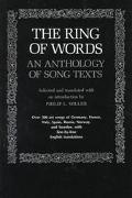 Ring of Words An Anthology of Song Texts