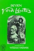 Seven Verdi Librettos With the Original Italian