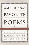 American's Favorite Poems The Favorite Poem Project Anthology