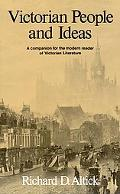 Victorian People and Ideas A Companion for the Modern Reader of Victorian Literature