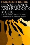 Renaissance and Baroque Music A Comprehensive Survey