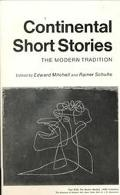 Continental Short Stories The Modern Tradition.