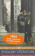 The Norton Anthology of English Literature, the Major Authors: The Romantic Period Through t...