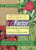 T-Factor Fat Gram Counter Completely Up-To-Date With 3-Week Recording Diary