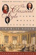 Classical Style Haydn, Mozart, Beethoven
