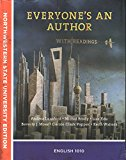 Everyone's An Author With Readings Custom Text for Northwestern State University English 1010