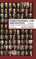 Constitutional Law and Politics : Struggles for Power and Governmental Accountability