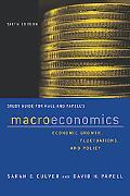 Macroeconomics - Study Guide - Robert E. Hall - Paperback