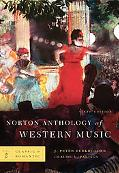 Norton Anthology of Western Music, Sixth Edition, Volume 2