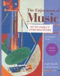 The Enjoyment of Music: With New Recordings