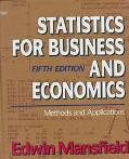 Statistics for Business and Economics Methods and Applications