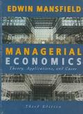 Managerial Economics (Hardcover, 1995)