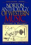 Norton Anthol.of Western Music,v.1