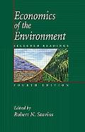 Economics of the Environment Selected Readings