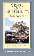Sense and Sensibility Authoritative Text, Contexts, Criticism