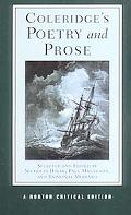 Coleridge's Poetry and Prose Authoritative Texts, Criticism