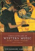 Norton Anthology Of Western Music Ancient To Baroque