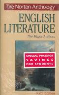 Norton Anthology of English Literature: Major Authors/With Wuthering Heights and Frankenstein