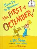 Please Try to Remember the 1st of Octember