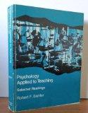 Psychology Applied to Teaching-Selected Readings