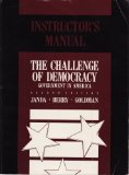 The Challenge of Democracy: Government in America (Instructor's Manual)