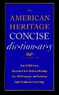 The American Heritage Concise Dictionary - Houghton Mifflin Publishing - Hardcover - REV