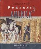 Portrait of America Volume 1: To 1877 (From Before Columbus to the End of Reconstruction) (v...