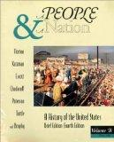 A People and a Nation: A History of the United States, Brief, Volume B : Atlas of Amrican Hi...
