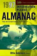 1997 Information Please Almanac - Otto Johnson - Hardcover - Only From B&N Books