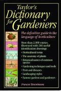 Taylor's Dictionary for Gardeners - Frances Tenenbaum - Hardcover