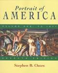 Portrait of America: From Before Columbus to the End of Reconstruction