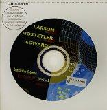 Interactive CD-ROM 2.o (P-15) for Larson/Hostetler/Edwards' Calculus, 6th