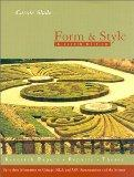 Form And Style, Eleventh Edition (Form and Style, 11th ed)