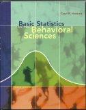 Basic Statistics for Behavioral Science