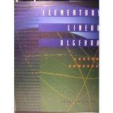 Elementary Linear Algebra Fourth Edition