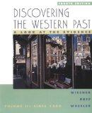 Discovering The Western Past, Volume 2, Fourth Edition
