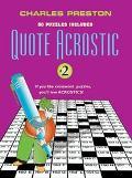 Quote Acrostic, Vol. 2 - Charles Preston - Paperback