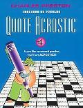 Quote Acrostic