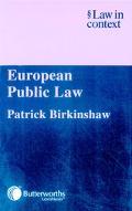 European Public Law