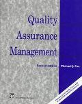 Quality Assurance Management - Michael J. Fox - Paperback - 2ND